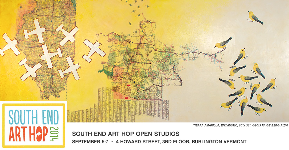South End Art Hop Open Studios